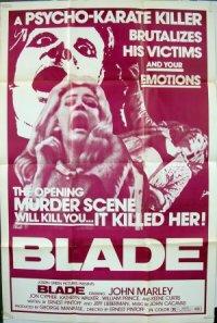 Blade poster