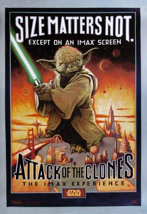 Star Wars: Episodio II - El ataque de los clones 1218x1767