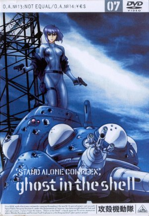 Ghost in the Shell - Stand Alone Complex 1531x2220