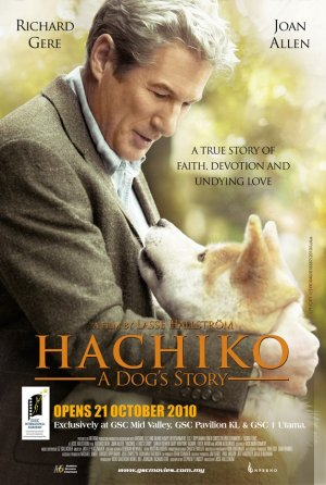 Hachi: A Dog's Tale 627x933