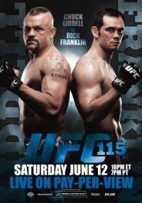 UFC 115: Liddell vs. Franklin poster