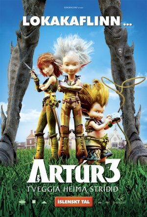 Arthur und die Minimoys 3 - Die große Entscheidung 850x1254