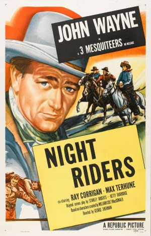 The Night Riders Re-release poster