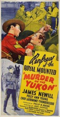 Murder on the Yukon poster