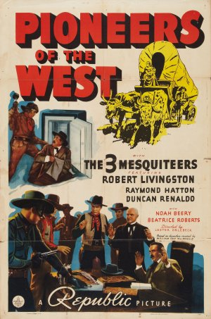 Pioneers of the West Poster