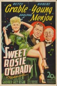 Sweet Rosie O'Grady poster