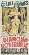 Diamond Horseshoe Poster