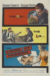 Crime of Passion poster