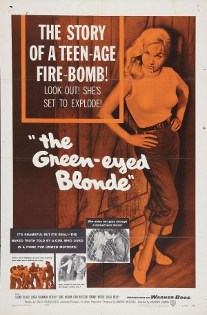 The Green-Eyed Blonde Poster