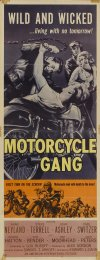 Motorcycle Gang Poster