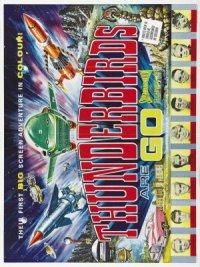 Thunderbirds, amos del espacio poster