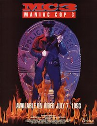 Maniac Cop 3: Badge of Silence poster