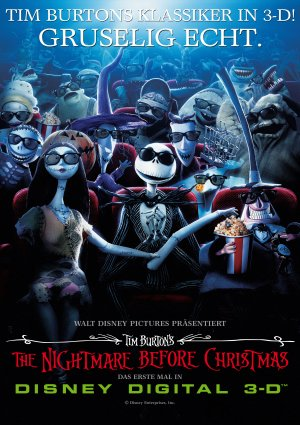 The Nightmare Before Christmas 3170x4492