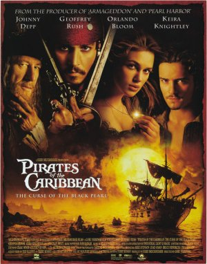 Pirates of the Caribbean: The Curse of the Black Pearl 675x860