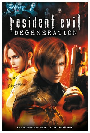 Resident Evil - Degeneration 2480x3661