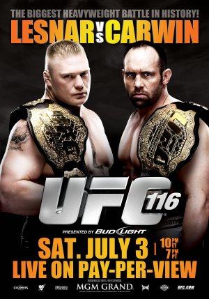 UFC 116: Lesnar vs. Carwin 2800x4000