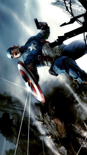 Captain America: The First Avenger Key art