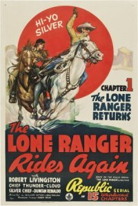 The Lone Ranger Rides Again poster