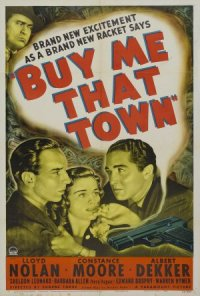 Buy Me That Town poster