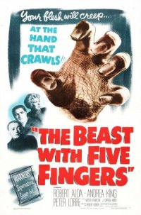 The Beast with Five Fingers poster