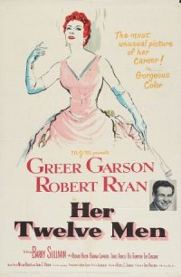 Her Twelve Men poster