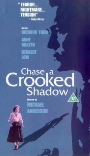 Chase a Crooked Shadow Vhs cover
