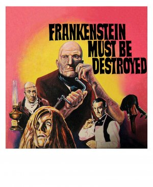 Frankenstein Must Be Destroyed Cover