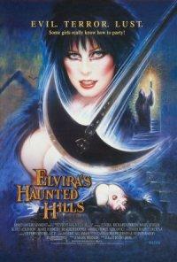 Elvira's Haunted Hills poster