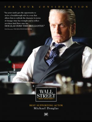 Wall Street: Money Never Sleeps For your consideration poster