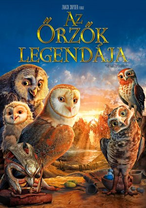 Legend of the Guardians: The Owls of Ga'Hoole Cover