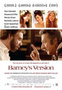 Barney's Version poster