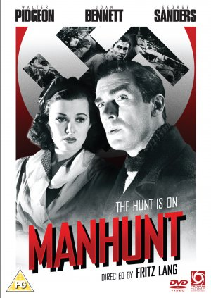 Man Hunt Dvd cover