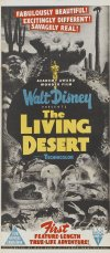 The Living Desert Poster