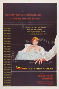 Wicked as They Come poster