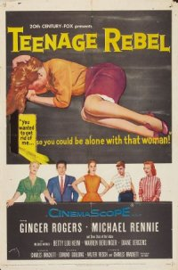 Teenage Rebel poster