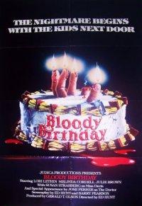 Bloody Birthday poster