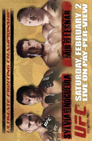 UFC 81: Breaking Point 837x1280