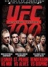 UFC 100: Lesnar vs. Mir poster