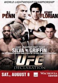 UFC 101: Declaration poster