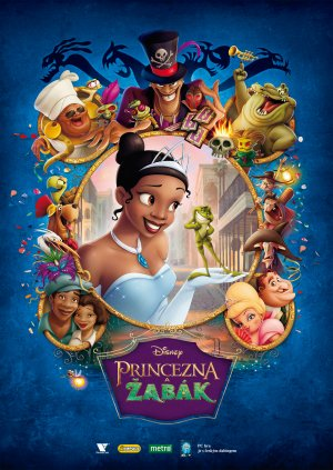The Princess and the Frog 1709x2412