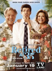 Retired at 35 poster
