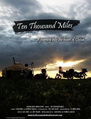Ten Thousand Miles Poster