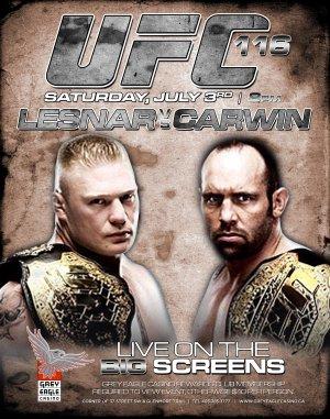 UFC 116: Lesnar vs. Carwin 3338x4238