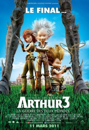Arthur und die Minimoys 3 - Die große Entscheidung 496x720
