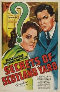 Secrets of Scotland Yard poster
