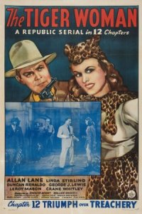 The Tiger Woman poster