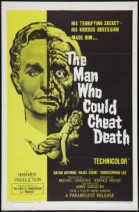 The Man Who Could Cheat Death poster