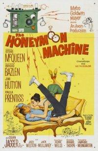 The Honeymoon Machine poster
