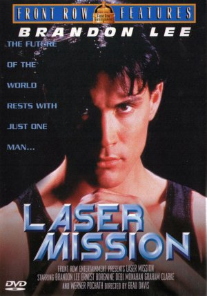 Laser Mission Dvd cover