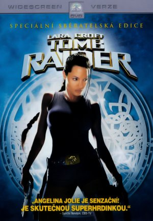Lara Croft: Tomb Raider Dvd cover